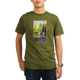Burma Travel Poster 1 T-Shirt