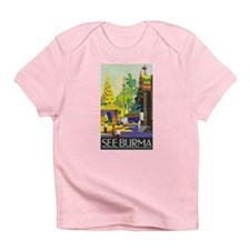 Burma Travel Poster 1 Infant T-Shirt