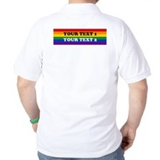 Personalize Cute Rainbow T-Shirt