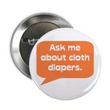 Ask me about cloth diapers button