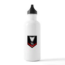 Navy PO3 Operations Specialist Water Bottle