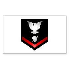 Navy PO3 Personnelman Decal