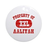 Property Of Aaliyah Ornament (Round)