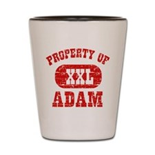 Property Of Adam Shot Glass