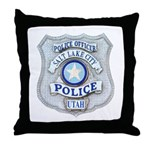Salt Lake City Police Throw Pillow