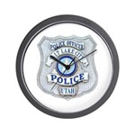 Salt Lake City Police Wall Clock