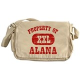 Property Of Alana Messenger Bag