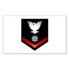 Navy PO3 Quartermaster Decal