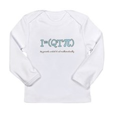 QT pi baby boy Long Sleeve Infant T-Shirt