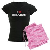 I Love Belarus pajamas