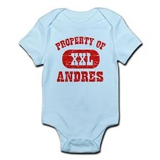 Property Of Andres Infant Bodysuit