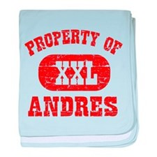 Property Of Andres baby blanket