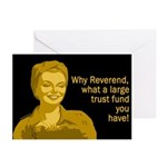 Why, Reverend! (Six Greeting Cards)