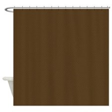 Brown Trellis Look Shower Curtain