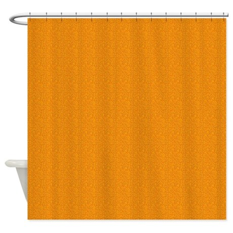 Gifts gt colorful bathroom d 233 cor gt rough orange texture shower curtain