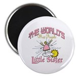 Angelic Little Sister Magnet