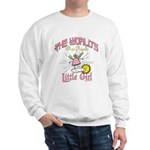 Angelic Little Girl Sweatshirt