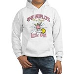 Angelic Little Girl Hooded Sweatshirt