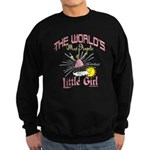 Angelic Little Girl Sweatshirt (dark)