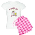 Angelic Little Girl Women's Light Pajamas