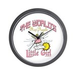 Angelic Little Girl Wall Clock