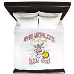 Angelic Little Girl King Duvet