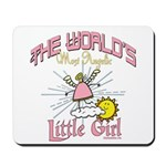 Angelic Little Girl Mousepad