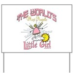 Angelic Little Girl Yard Sign