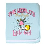 Angelic Little Girl baby blanket