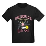 Angelic Little Girl Kids Dark T-Shirt