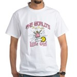 Angelic Little Girl White T-Shirt