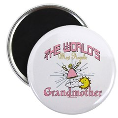 "Angelic Grandmother 2.25"" Magnet (100 pack)"
