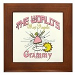Angelic Grammy Framed Tile