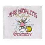 Angelic Grammy Throw Blanket