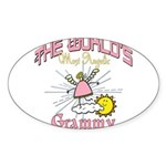 Angelic Grammy Sticker (Oval 50 pk)