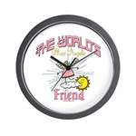 Angelic Friend Wall Clock