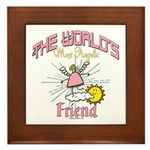 Angelic Friend Framed Tile