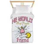Angelic Friend Twin Duvet