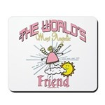 Angelic Friend Mousepad