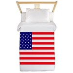 USA flag Twin Duvet