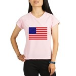 USA flag Performance Dry T-Shirt