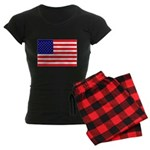 USA flag Women's Dark Pajamas