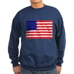USA flag Sweatshirt (dark)