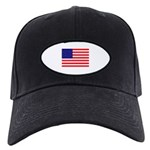 USA flag Black Cap