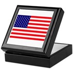 USA flag Keepsake Box