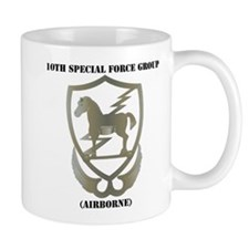 10th Special Force Group (Airborne) with Text Mug