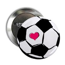 Soccer Heart Button