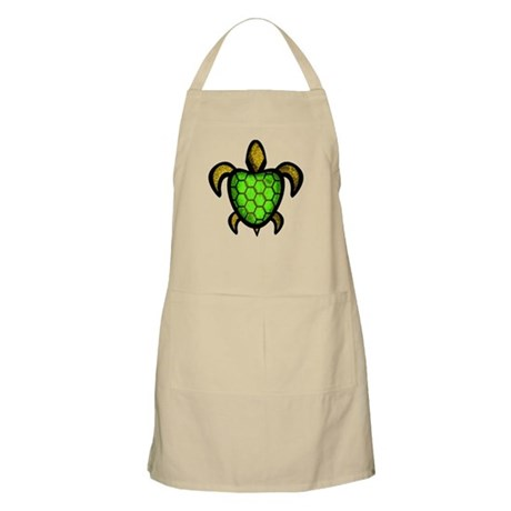 Green Shell Turtle Apron