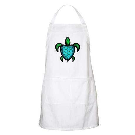 Blue Shell Turtle Apron