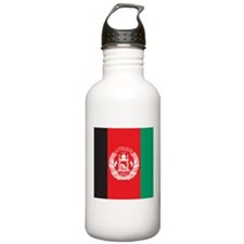 Afghanistan Flag Sports Water Bottle